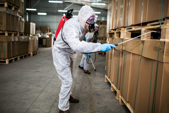 Pesticides for factories